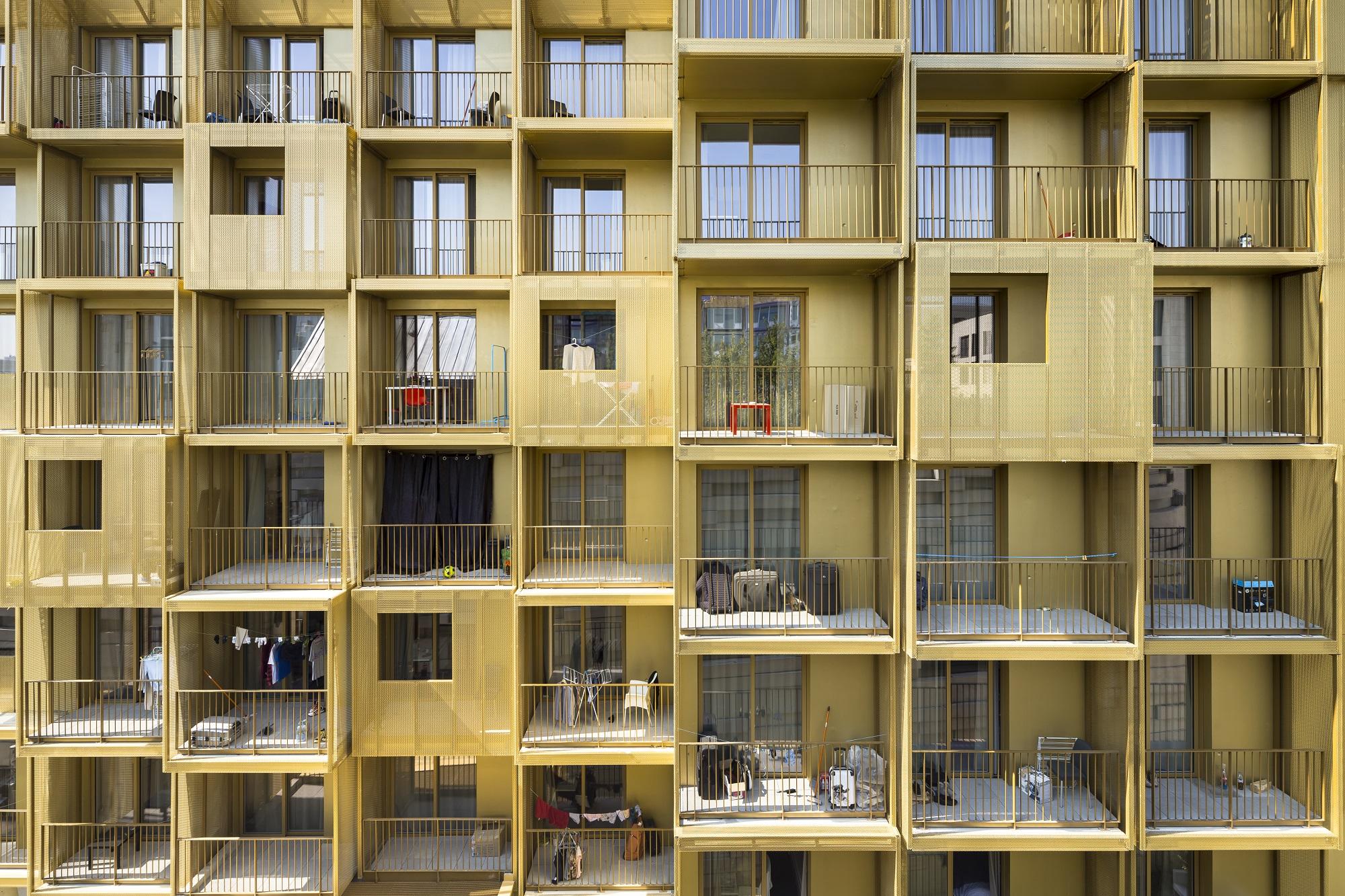 Golden Cube : la résidence étudiante qui brille à Boulogne
