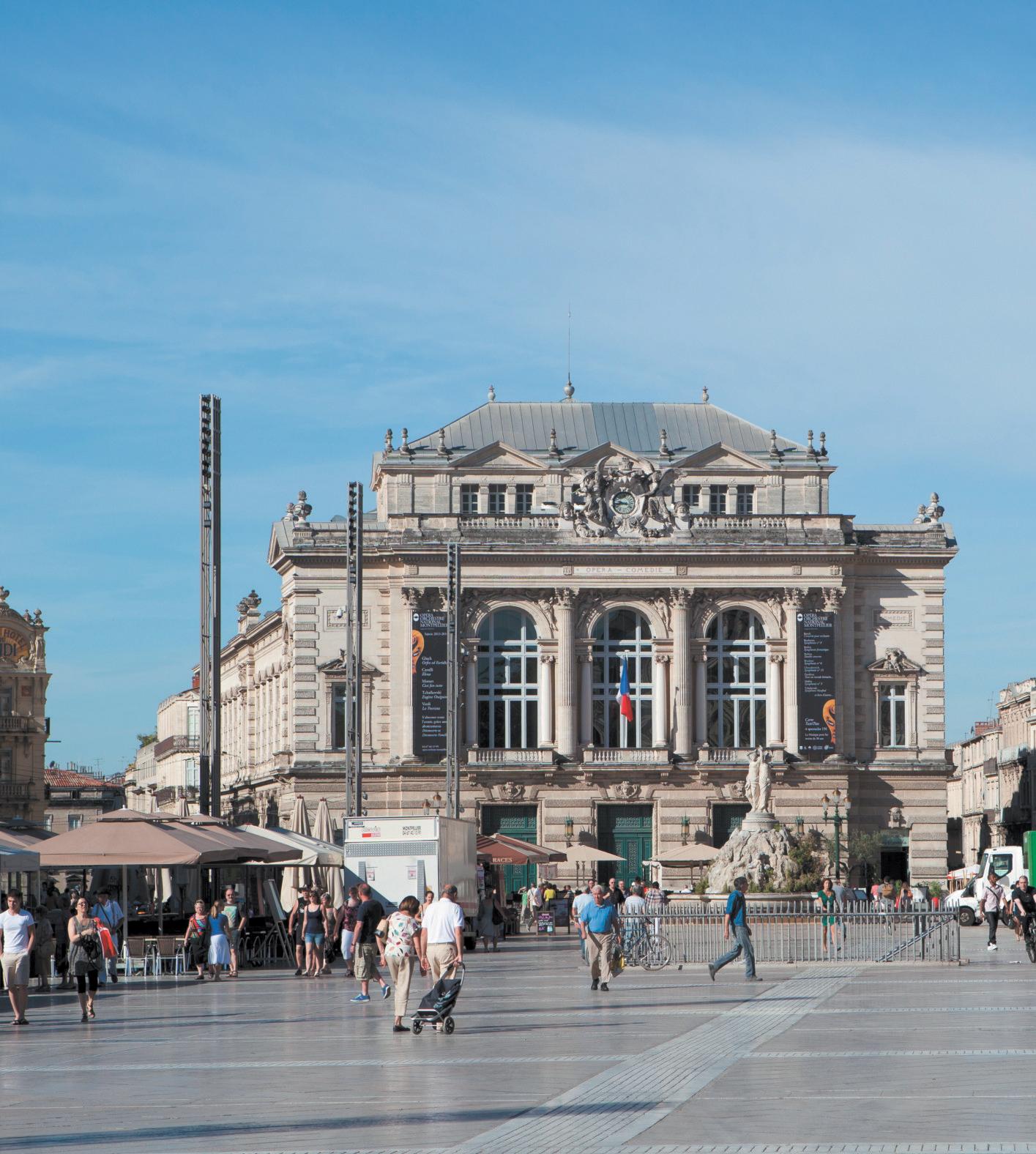 Montpellier, cité bâtisseuse, 7e ville où investir en 2015