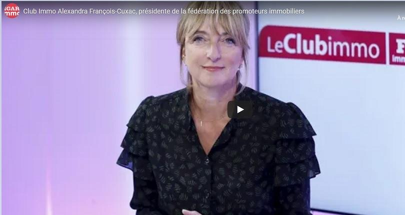 Alexandra François-Cuxac : « Il ne faut pas casser la dynamique du neuf »