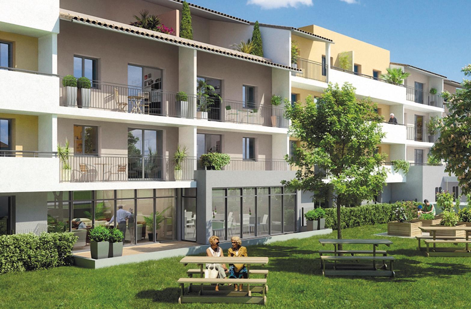 400 logements seniors en Languedoc-Roussillon