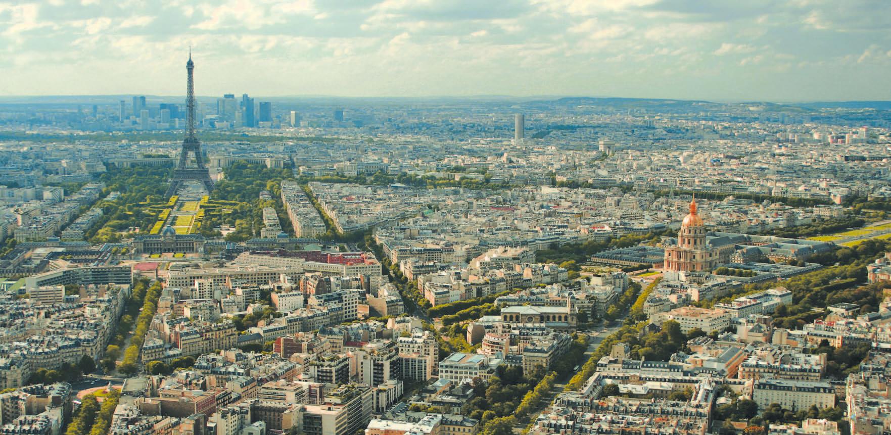 Paris à l'heure des éco-quartiers