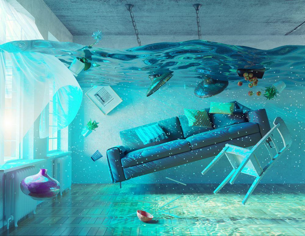 Même si votre maison est inondée, il n'y a pas forcément de vice caché