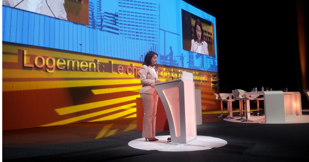 Congrès des promoteurs : Cécile Duflot appelle à la mobilisation des acteurs du logement