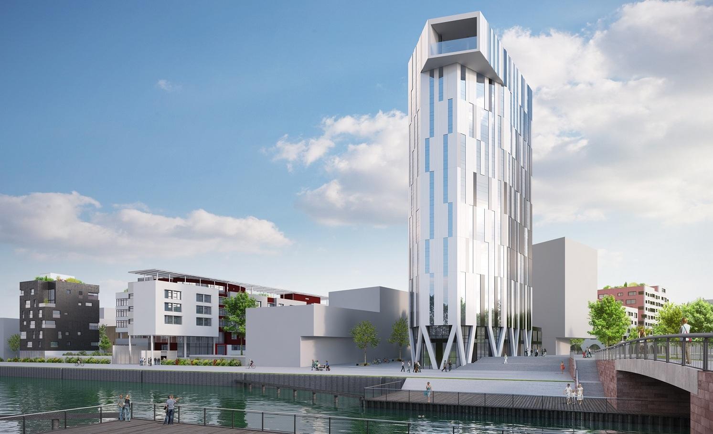 La tour de logement la plus verte du monde sera à Strasbourg