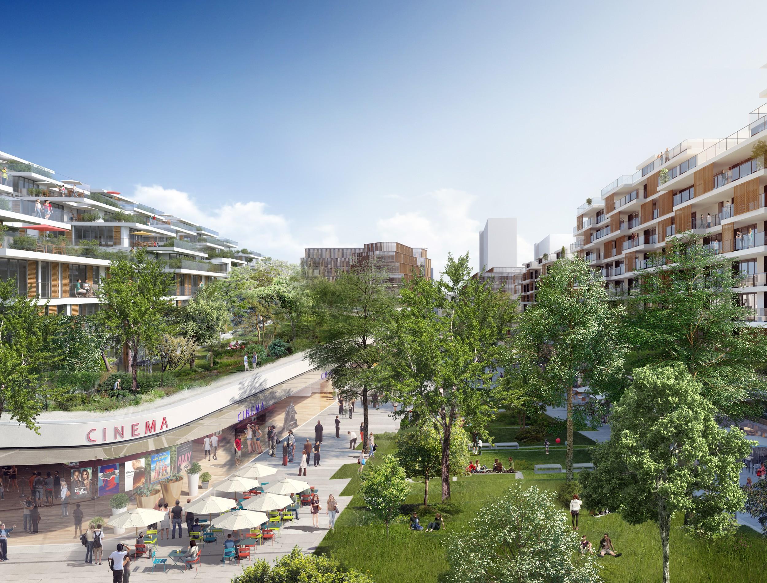Bientôt un nouveau quartier connecté à Issy-les-Moulineaux