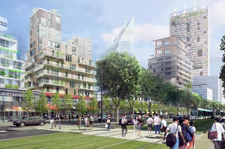 Les ventes de logements neufs doublent en Île-de-France
