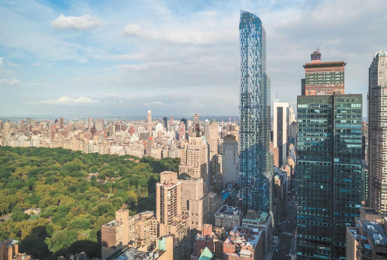 Le gratte-ciel des milliardaires