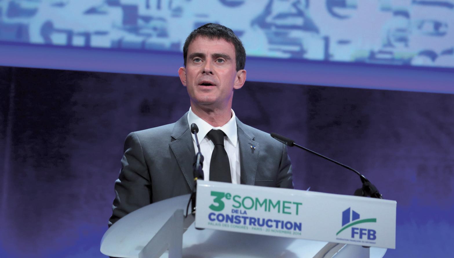 Manuel Valls sur le front du logement