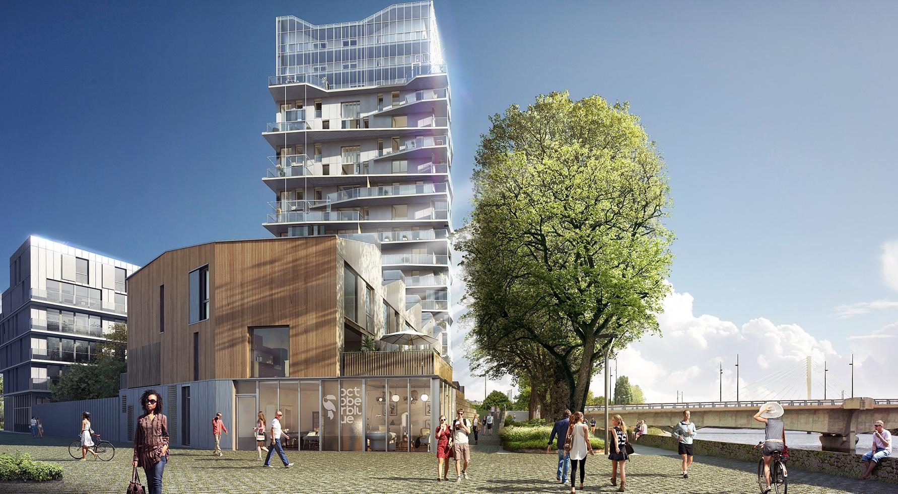 À Nantes on mélange les appartements et les maisons