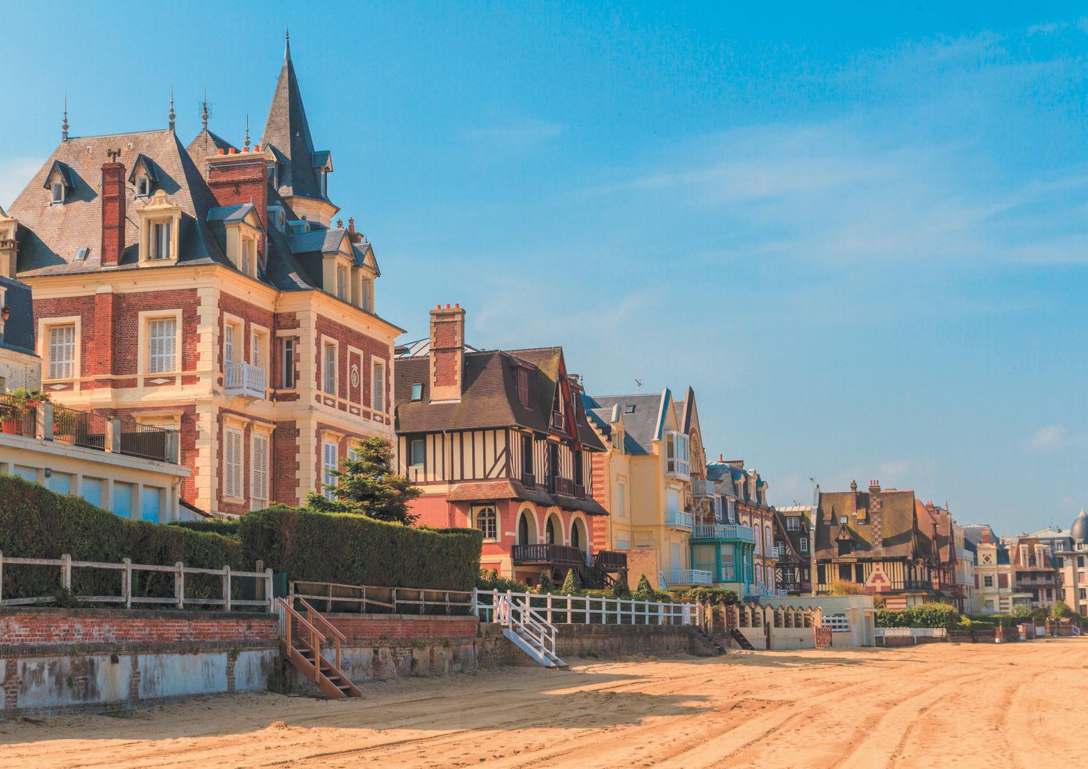 Normandie : une embellie en bord de mer