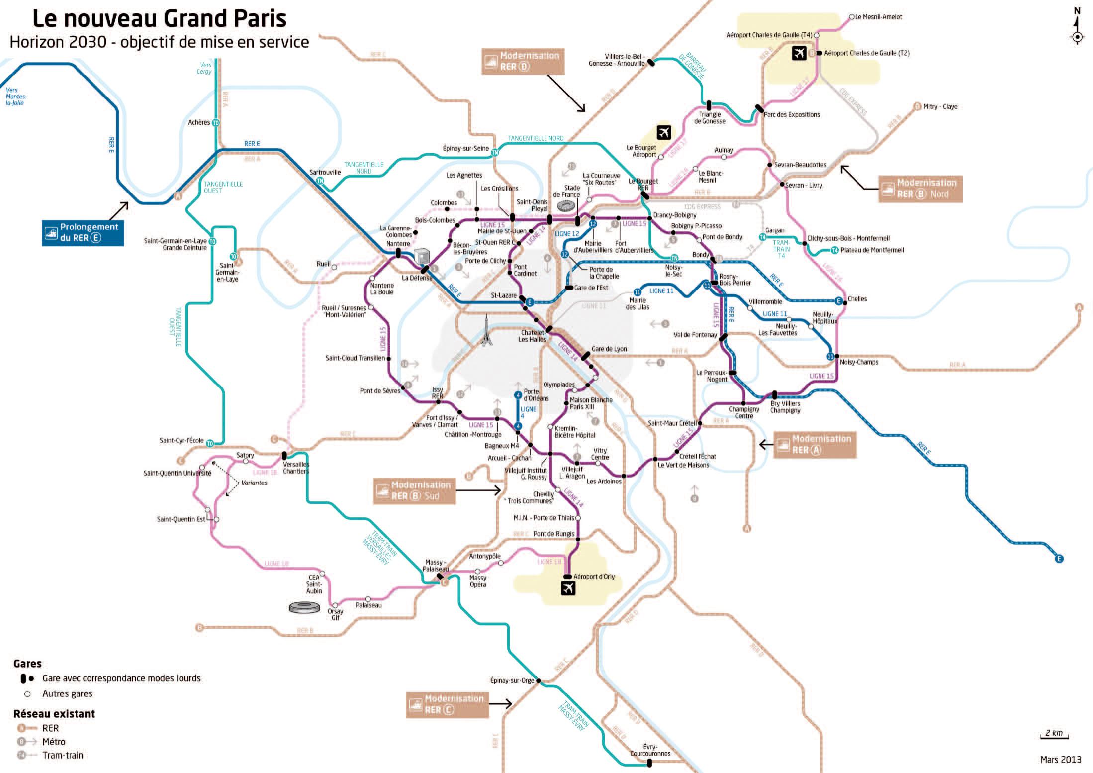 Le Grand Paris remonte en scène