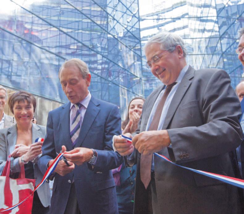 Inauguration de 183 logements pour les jeunes dans le 13ème à Paris