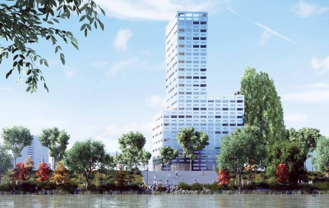 Quand Nantes veut toucher les cieux avec ses logements neufs