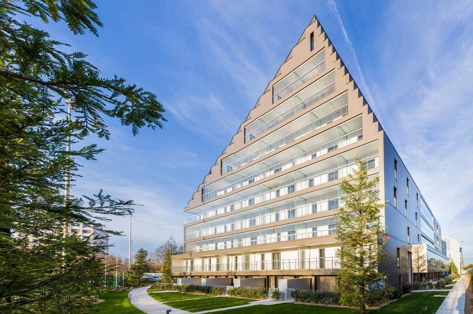 Nantes : des logements sociaux BBC dans une pyramide