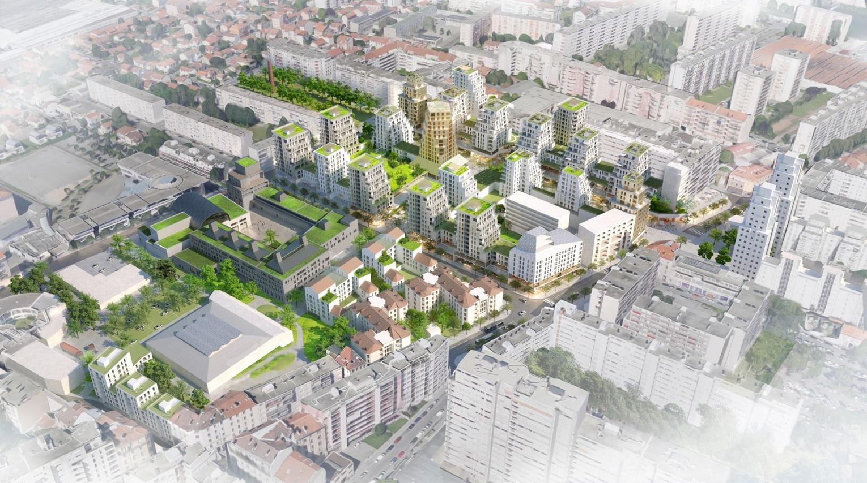 Villeurbanne, futur foyer des gratte-ciel
