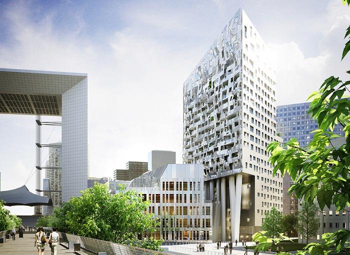 La Défense renoue avec l'immobilier résidentiel